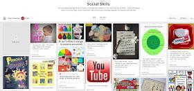 Social Skills Pinterest board plus a book list that will help to teach social skills