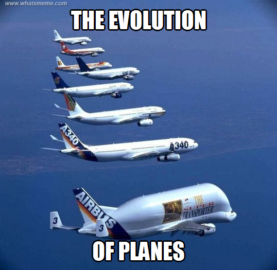 the evolution of airplanes The evolution of airway lights and electronic navigation aids  the test was  followed by further development of aircraft antennas to send and receive satellite .
