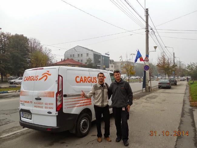 Am fost si eu livrat de Urgent Cargus la Craiova