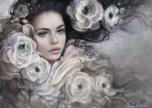 Ulyana Selene Regener selenada deviantart ilustrações belas mulheres fantasia