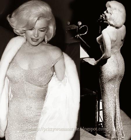 Емблематичната рокля на Мерилин Монро от рождения ден на Кенеди