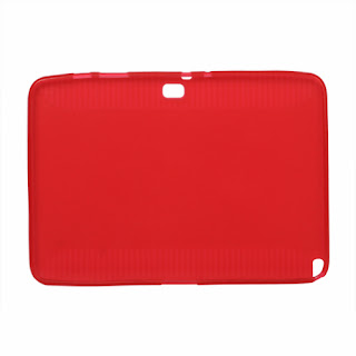 TPU Case for Samsung Galaxy Note (10.1) / N8000 / N8010, Red