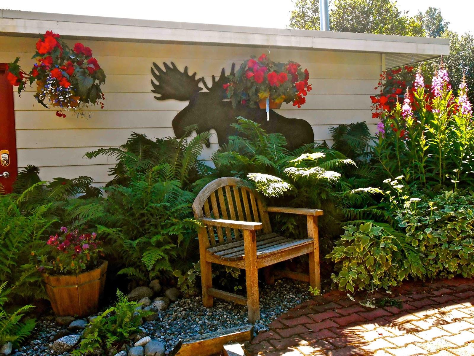 Enjoy Alaskan Sun in Camai Bed and Breakfast Garden!