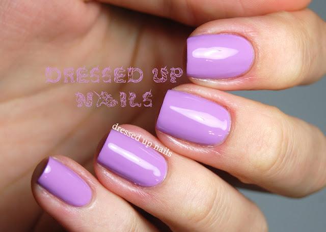 Dressed Up Nails - Super Black Lacquers Little Piggy swatch