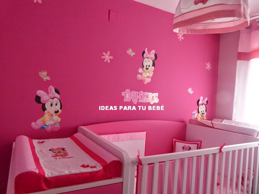 Decoracion minnie bebe for Decoracion bebe