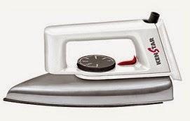 Steal Price: Kenstar Wonderlite Dry Iron (750 Watt) worth Rs.715 for Rs.299 Only @ Flipkart