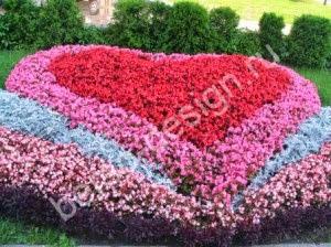 как сделать красивый цветник, красивые цветники своими руками