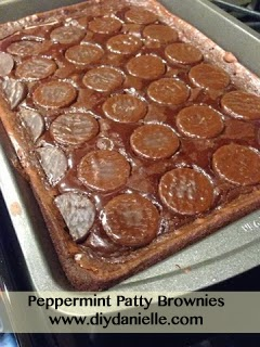 How to make peppermint patty brownies
