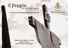 Pregón Exaltación de la Semana Santa. Cofradía Crísto del Gran Poder. León, 14 de marzo de 2015