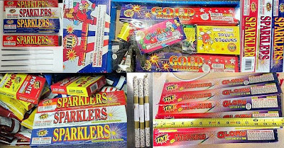 Fireworks Discovered at (L-R) DCA, DTW, RDU, FWA, SEA, ISP