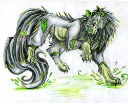 Tsuki~Earth Wolf Form