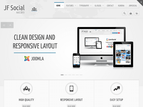 JF Corporate Joomla Business Templates