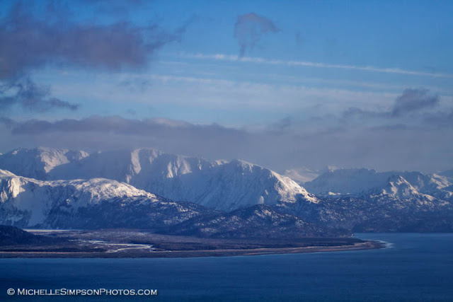 Kenai Mountain Scene - Homer, Alaska