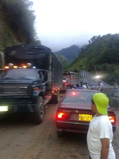 Latinco e Invías recomiendan tránsito con precaución por la vía Chitagá - Pamplona