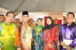 Bersama Menteri Besar Kedah dan EXCO