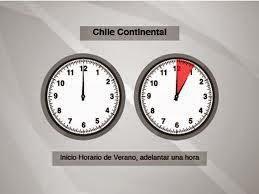 que hora es en Chile, horario oficial en santiago, región, 2014 Nuevo horario actualizado