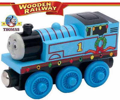 Thomas and His Friends Wooden Railway Holiday Christmas Lights Thomas tank engine collector's item