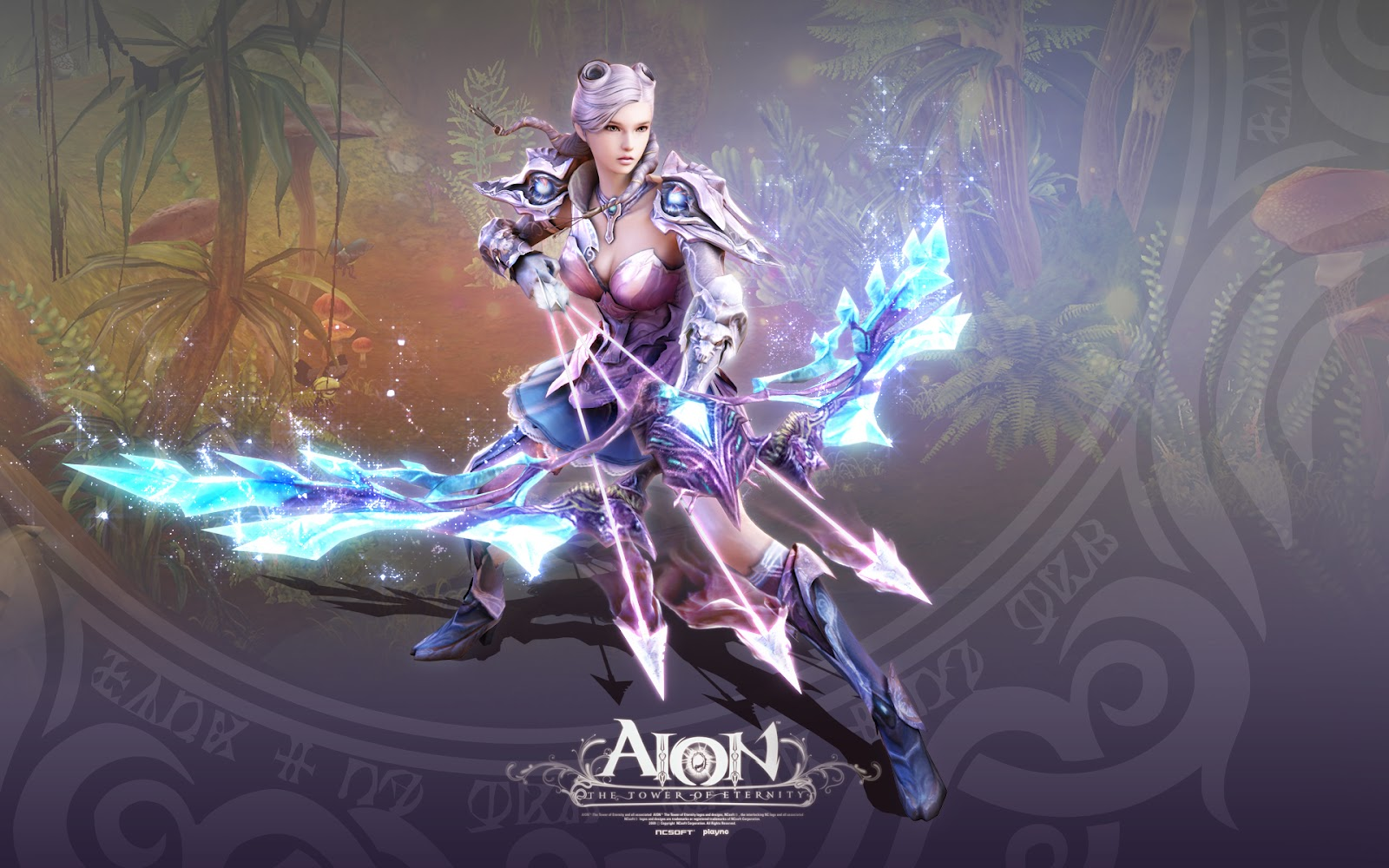 Aion game video fantasy art artwork mmo online action fighting ascension rpg echoes eternity upheaval warrior magic