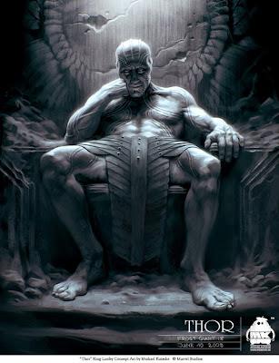 Michael Kutsche, ilustraciones, Thor, Kenneth Branagh