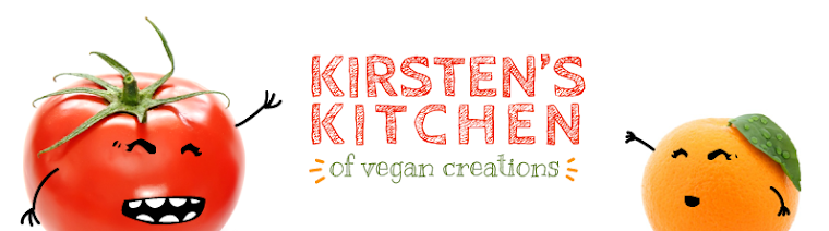 Kirsten&#39;s Kitchen: of vegan creations