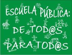Apúntate a la Escuela Pública