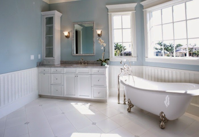 bathroom wall colors ideas