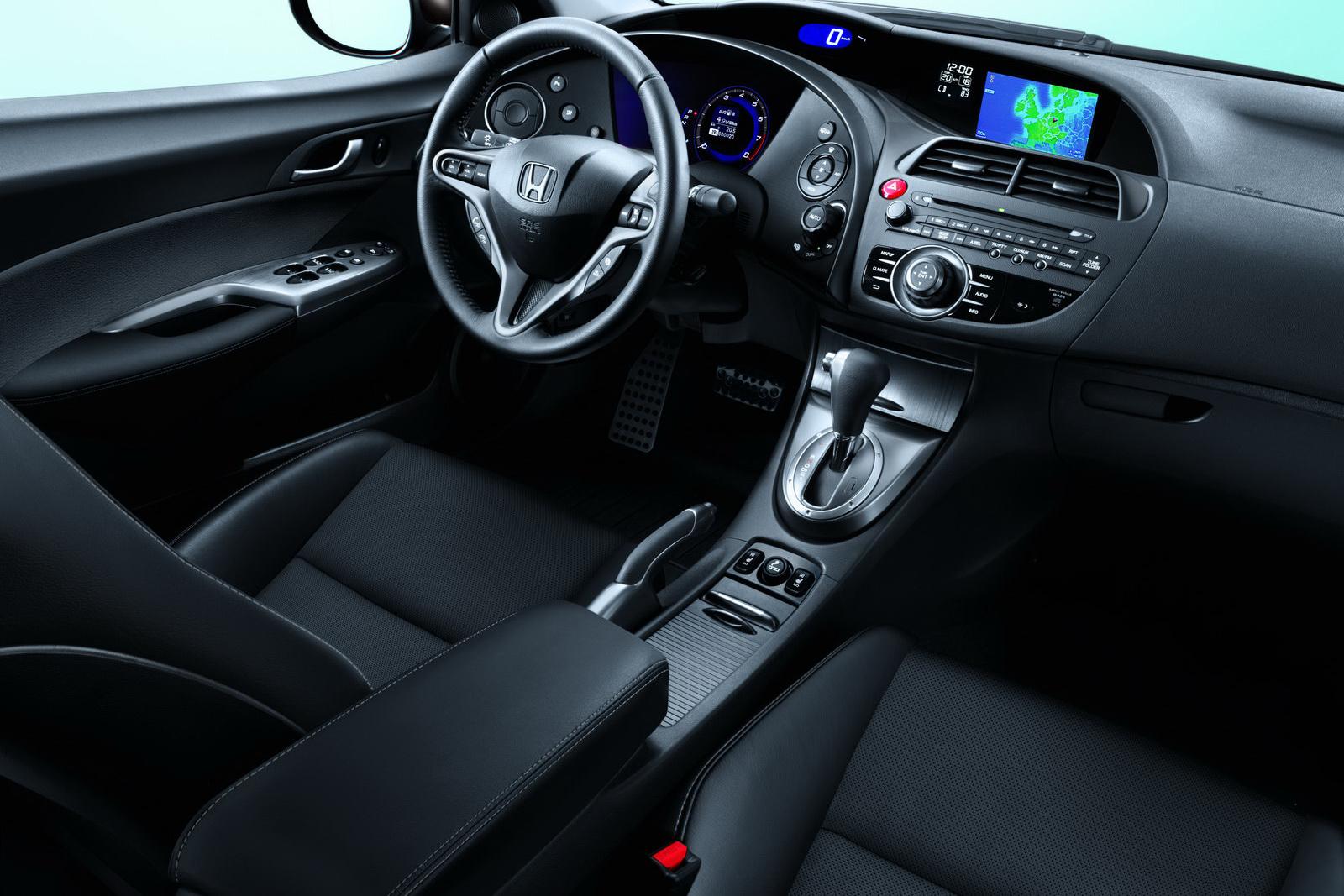 model cars of the world 2011 honda civic interior. Black Bedroom Furniture Sets. Home Design Ideas