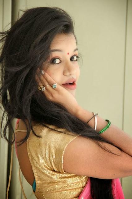 Bhavya Sri Latest In Saree