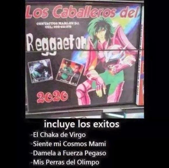 Los caballeros del reggaeton