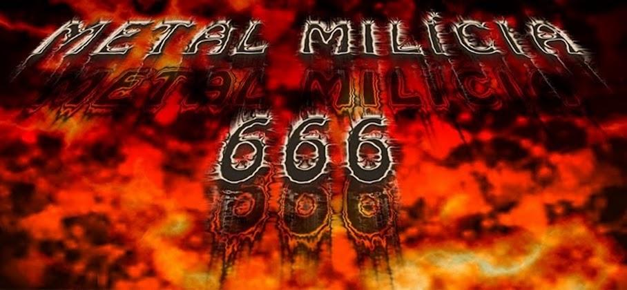 Metal Milícia 666