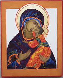 Started writing icons in January.  Here's my work so far.  Hope you like them.   Virgin & Child