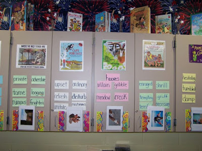 Vocabulary Display