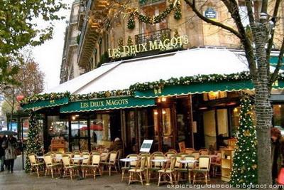 Les Deux Magots Cafe Paris