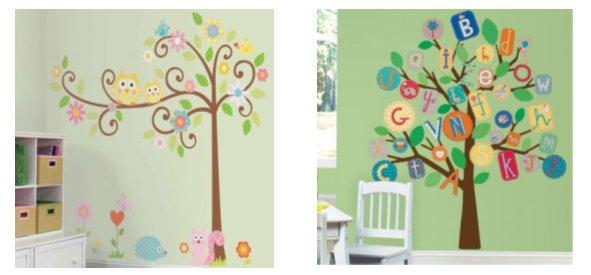 El bosque encantado biblioteca de aula - Dibujos para paredes infantiles ...