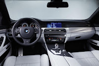 BMW M5 (2012) Dashboard