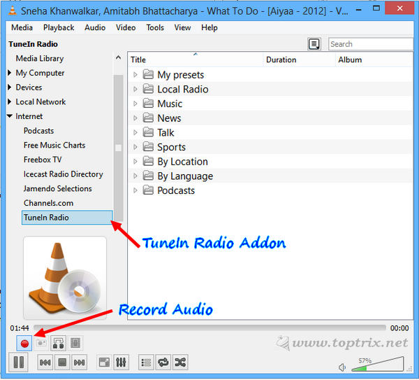 record-radio-audio-with-vlc-media-player