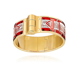 Jewellery Every Women Should Own Enamel Bangle Eperon d'Or Bandana Hermes Printed Hinged