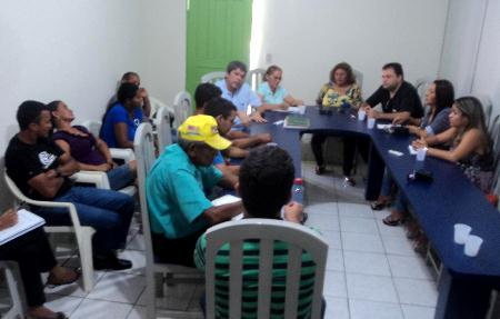 Chapadinha-MA: Reunião sobre hospitais HCC e São Francisco
