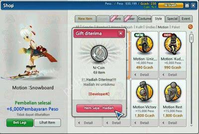 Cara Mendapatkan M-Coin LostSaga
