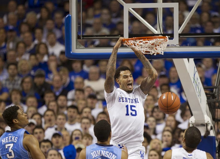 Willie Cauley-Stein hopes to lead Kentucky to a 40-0 record and a national title