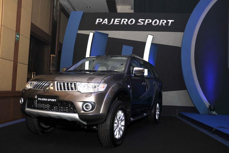 2011 mitsubishi pajero sport. Mitsubishi announced that will