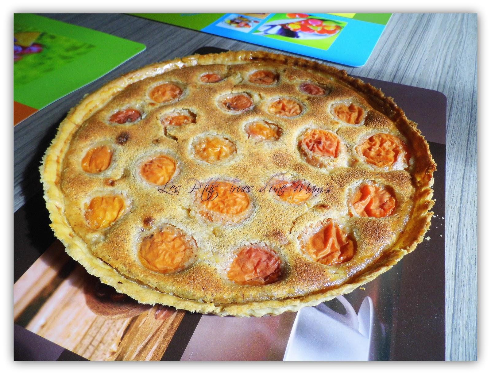 tarte amandine aux abricots blogs de cuisine