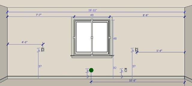 5 steps building your dream kitchen for Window height