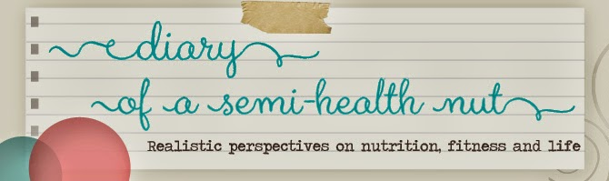 Diary of a Semi-Health Nut  |Food | Fitness | Semi-Healthy Baking
