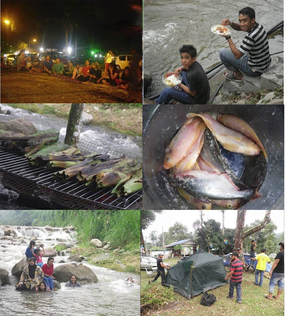 Riang-ria bercuti bersama keluarga. Cuma 30 minit pemanduan dari Carrefour Ampang