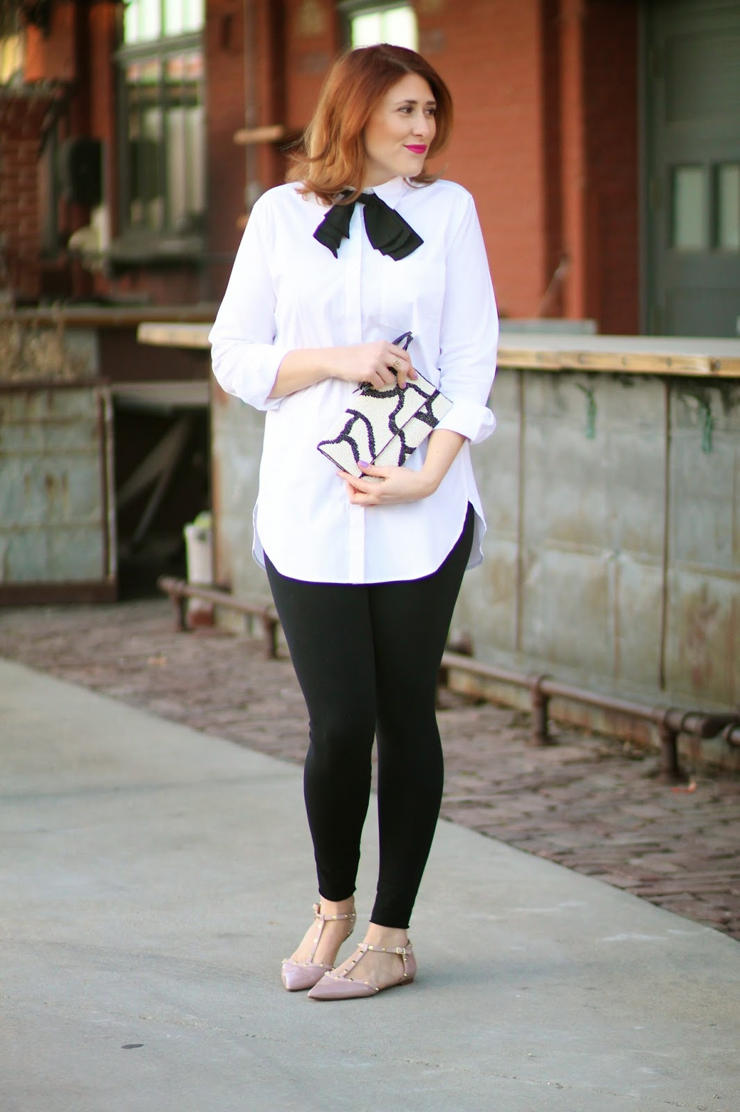 black, neck, bow, asos