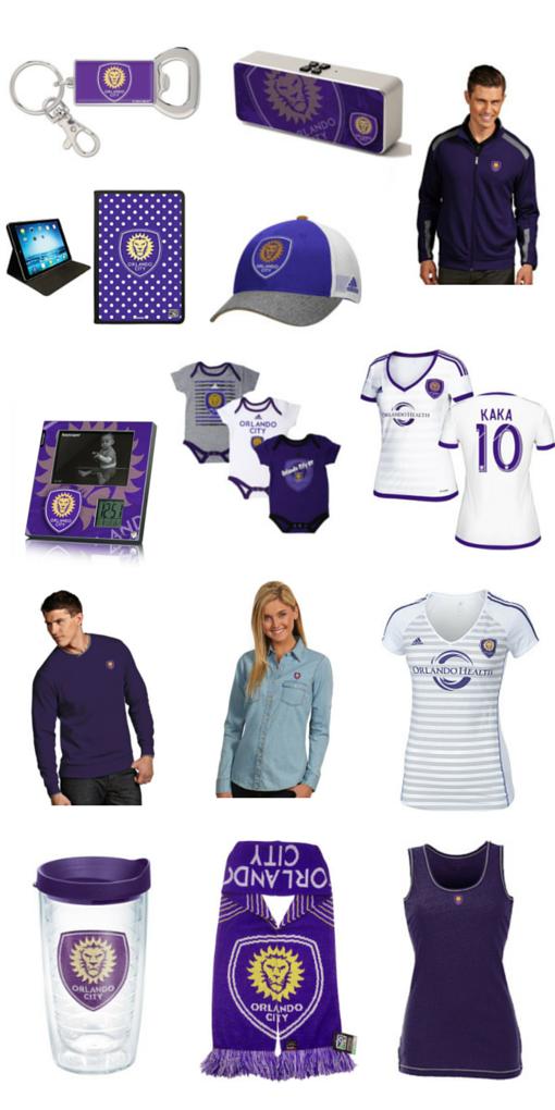 Orlando City Soccer Club gear