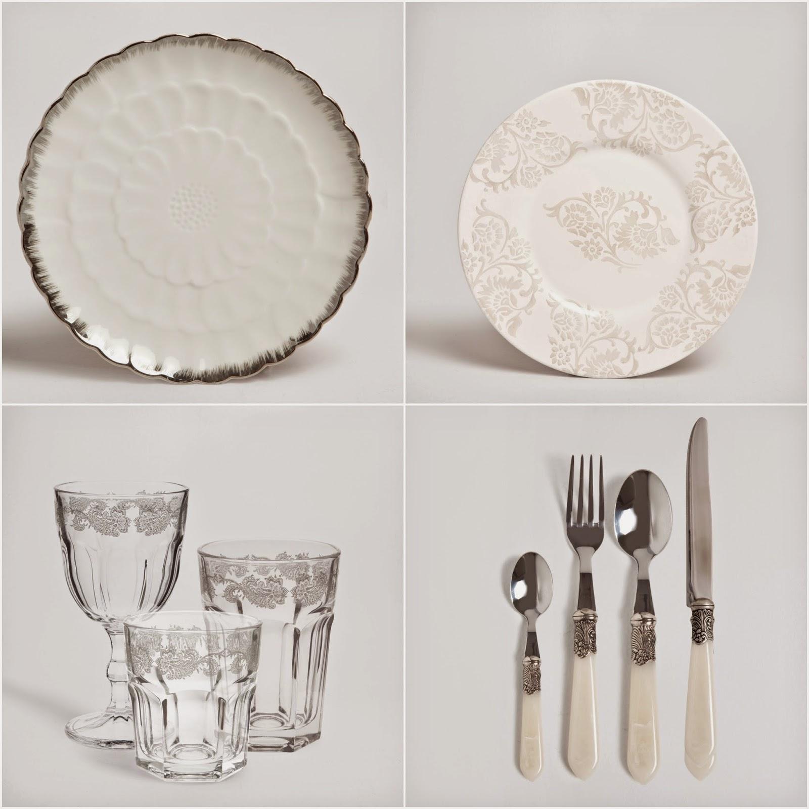 Hermanas bolena decoraci n la mesa perfecta c mo - Vajillas de cristal ...