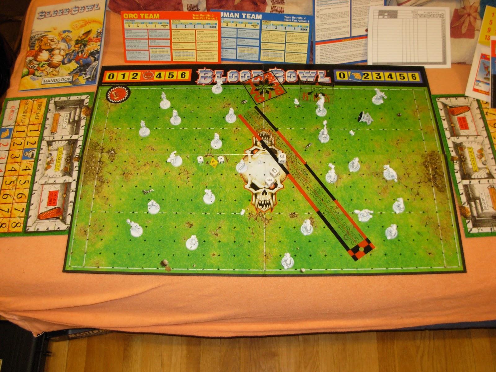 el rincon del golem bloodbowl lo mas divertido en juegos