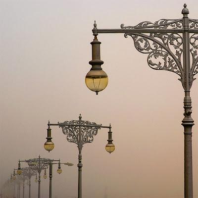 Paris street lights
